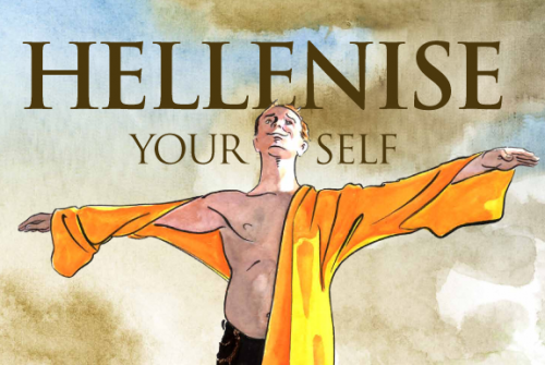 Hellenize Yourself Bloomsday Poster 2012