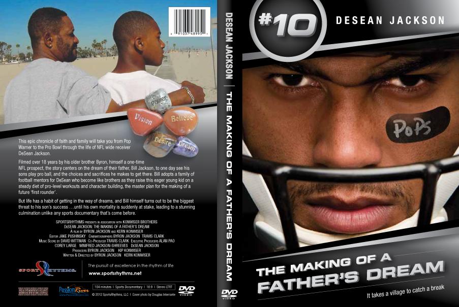 DeSean Jackson DVD Wrap