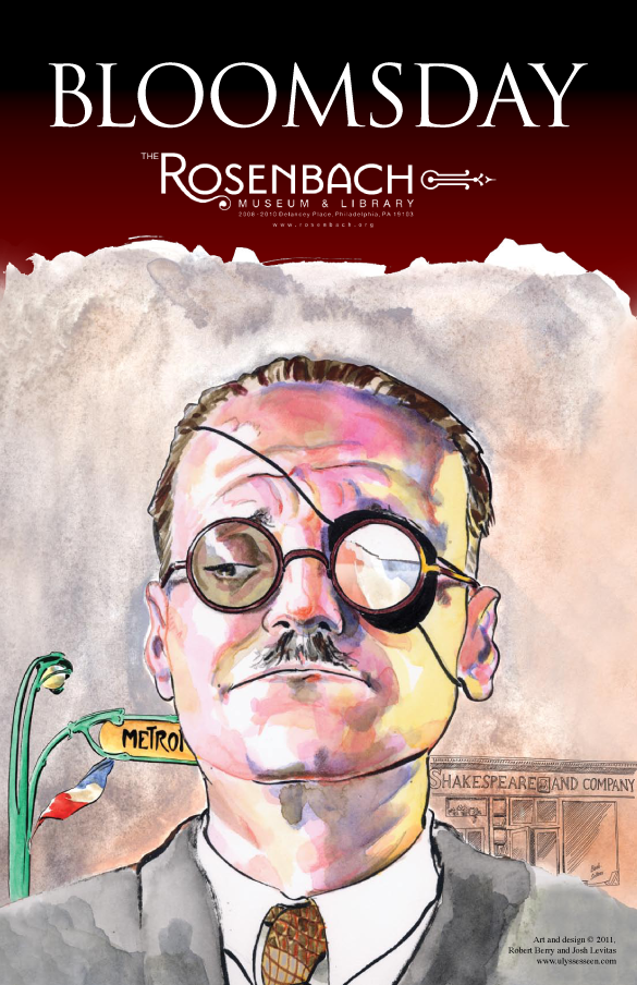 Rosenbach Bloomsday 2011 Poster