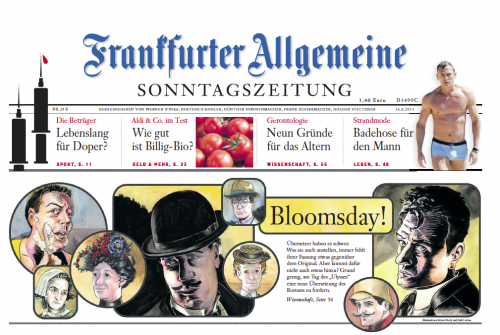 "Ulysses ""Seen"" in Germany's Frankfurter Allgemeine"